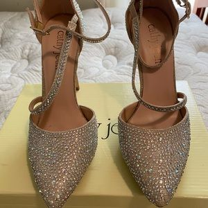 Gorgeous sparkly heels